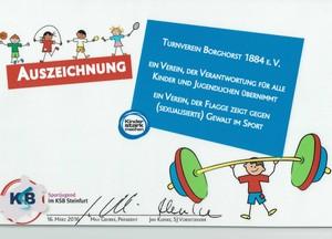 Auszeichnung Kinderschutz
