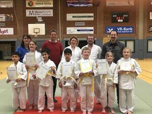 TVB Judokas ergattern gut vorbereitet die neuen Gürtel